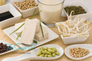 Shows different types of Soy